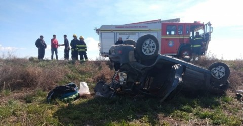 Accidente en Ruta 85